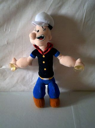 Peluche Popeye avec ventouse