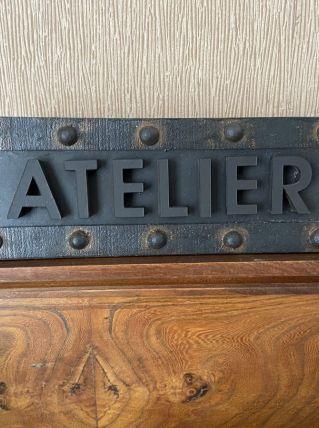 Atelier plaque décoration