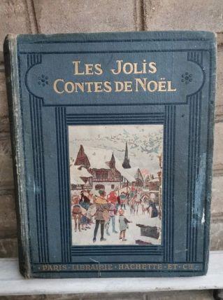 Ancien livre Les jolis contes de Noël