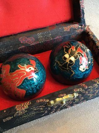 Boules de relaxation Chinoises Qi Gong