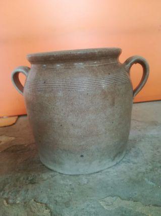 Jarre vintage pot en grès céram émaillé années 50/60