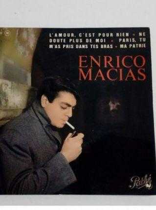 45 tours collection Enrico Macias-L'amour c'est pour rien