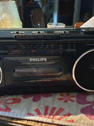 Poste radio k7 philips