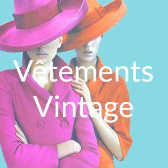 vetements vintage occasion