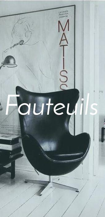 Fauteuils vintage scandinave vintage