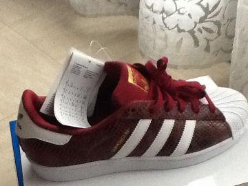 Adidas superstar bordeaux neuve