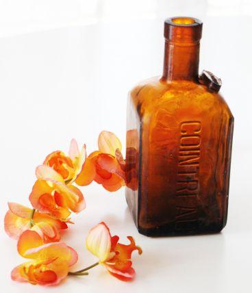 Bouteille Vase Cointreau vintage d'époque