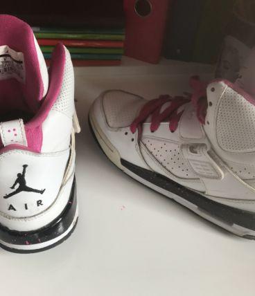 Jordan blanche et rose