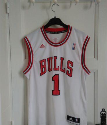 Maillot de basket Chicago Bulls joueur Rose