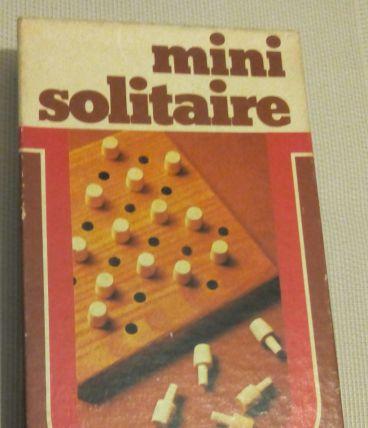 Jeu mini solitaire - Edmond Dujardin