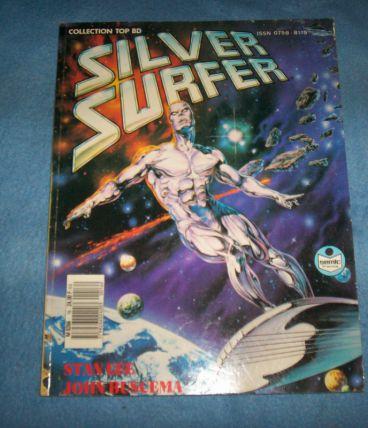 Comics SOUPLE SILVER SURFER NO 16 DE 1988