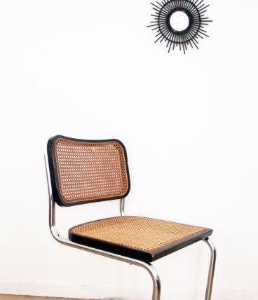 Chaise Cesca B32 vintage de Marcel Breuer Edition 80's