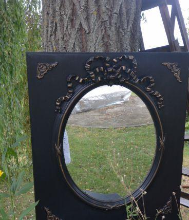 miroir ancien et sa console
