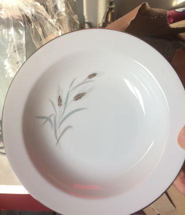 Lot assiettes porcelaine