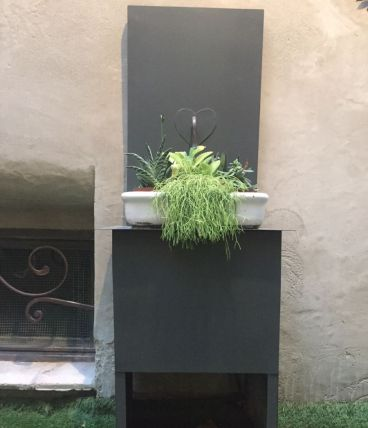 fontaine de jardin en zinc luckyfind. Black Bedroom Furniture Sets. Home Design Ideas