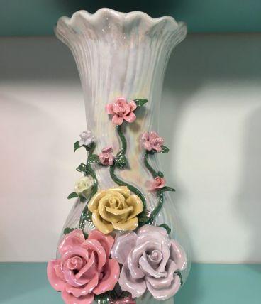 Vase à fleurs en porcelaine