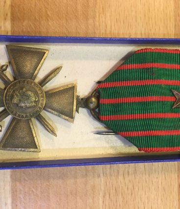 Médaille Croix de guerre