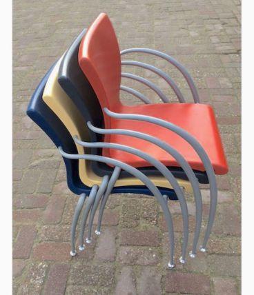 4 chaises Martin BALLENDAT vintage