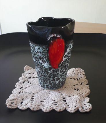 vase  fat lava  moderniste années 50/60, Vallauris.