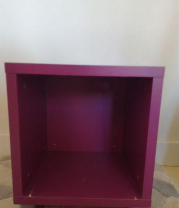 Cube de rangement, tabouret, table d'appoint