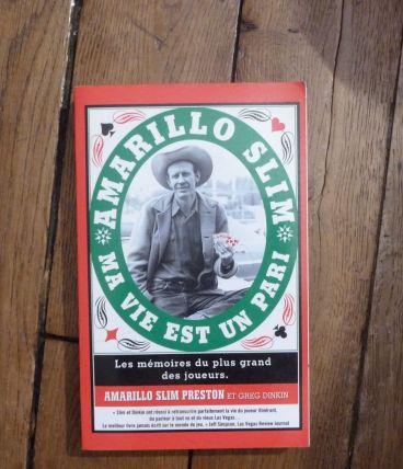 Poker- Ma Vie est un Pari - Preston Slim -Ma Editions - 2008 (Livre)