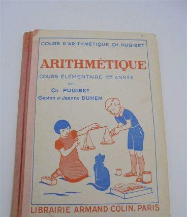 Ancien manuel d'arithmétique CE1