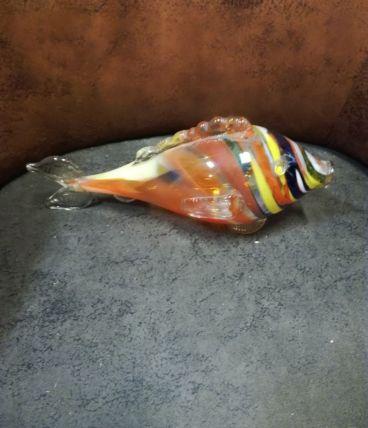 Poisson en verre Murano vintage