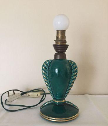 Pied de lampe années 40