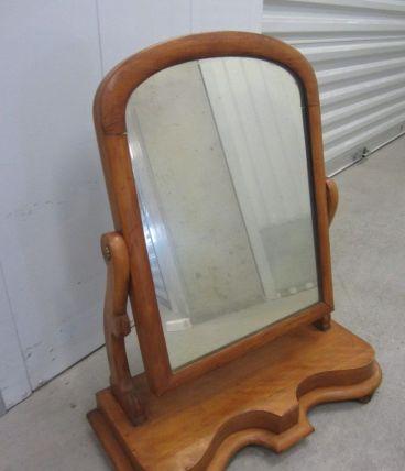 Miroir-psyché anglais pivotant en pitchpin