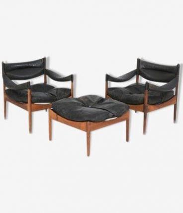 """""""Modus"""" fauteuils en palissandre"""