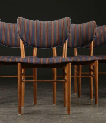 Niels Koppel- Chaises à rayures