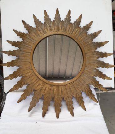 grand miroir soleil 60s