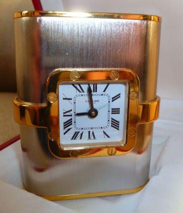 Pendulette de bureau Cartier