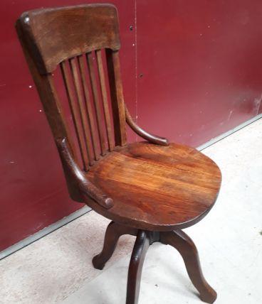 chaise de bureau Baumann 1920