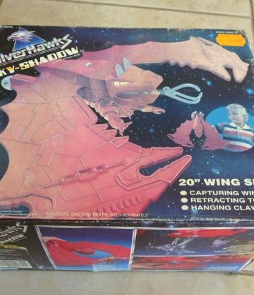 SILVERHAWKS SKY-SHADOW KENNER non9030