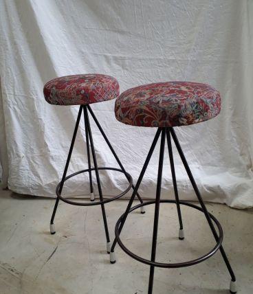 2 tabourets 1960-70s