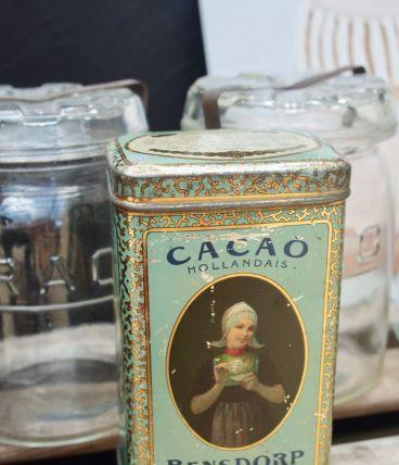 Boite années 30 cacao Hollandais Bensdorp
