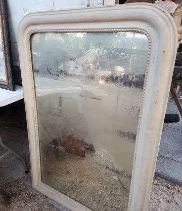 Ancien grand miroir mercure trumeau