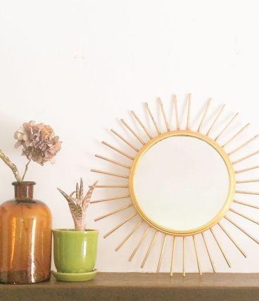 Miroir soleil des années 60