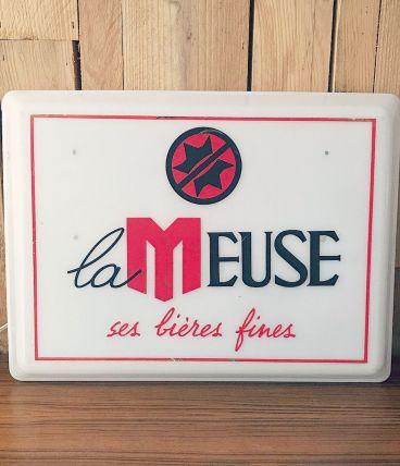 Enseigne lumineuse «La Meuse»