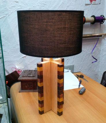 LAMPE CROISILLON  STYLE ANNÉE 30