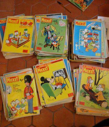 163 journaux de mickey des années 1957 à 1971