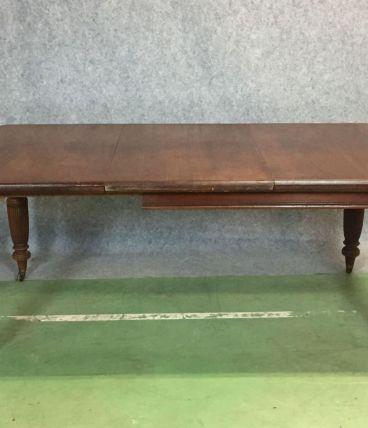 Table victorienne XIXème en noyer