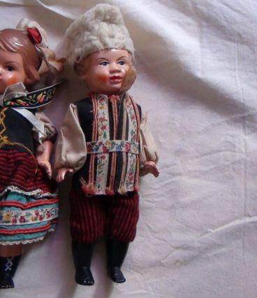 poupées celluloïd  année 50