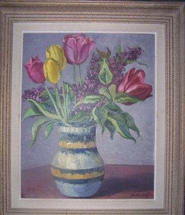 tableau de peintre