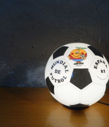 Lampe ballon de football Coupe du monde Espagne 82