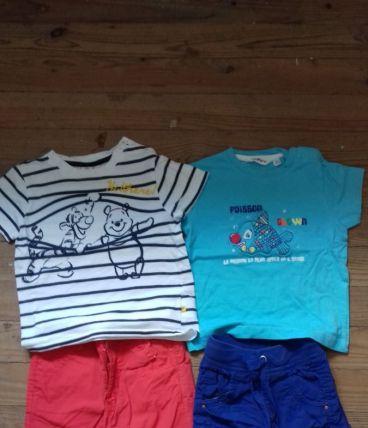 lot 4 short+ 4 t-shirt
