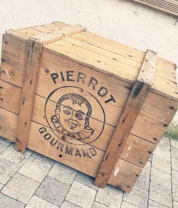 Caisse en bois Pierrot Gourmand