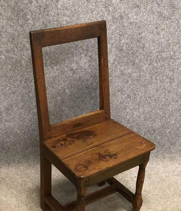 Chaise Lorraine XVIIIème en chêne