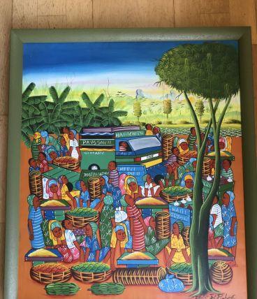 Tableau haïtien